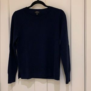 J Crew Long-sleeve Cashmere Crewneck Sweater